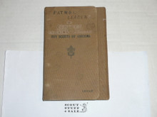Lefax Boy Scout Fieldbook, RARE Double Canvas Binding, Includes Many BSA and Lefax Inserts