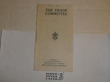 Lefax Boy Scout Fieldbook Insert, The Troop Committee, Philadelphia Council