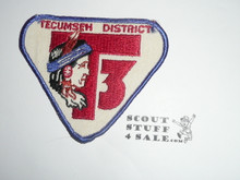 Tecumseh District Patch, unknown Council