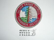 Tamarack District Patch, Golden Empire Council