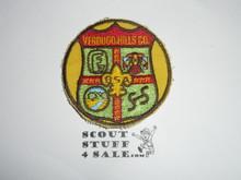 Verdugo Hills Council Patch (CP)