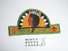 Union Council Patch (CP), HAT Shape, used