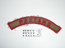 PAXTANG Khaki and Red Community Strip, used