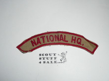 NATIONAL HQ. Philippean Tan/Red Council Strip