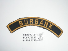 BURBANK Blue and Gold Community Strip, Cub Scout, sewn