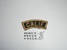 CALIF Blue and Gold State Strip, Cub Scout, sewn