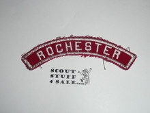 ROCHESTER Red and White Community Strip, used