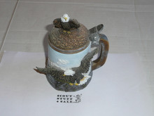 resin eagle beerstein,
