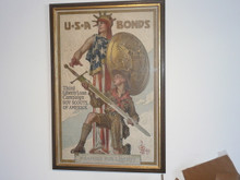 1918 lleyendecker boy scout war bonds poster, original, mint condition, archival matt, 22.5 wide by 32 high