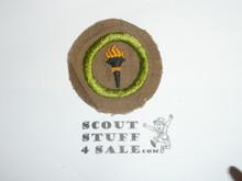 Public Health - Type D - Fine Twill Merit Badge (1942-1946)