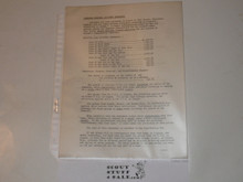 1950 National Jamboree Insurance Information from National