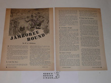 1950 National Jamboree Scouting Magazine reprint called Jamboree Bound