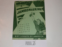 1950 National Jamboree Jamboreering Book of Tenting, Cooking, Packing, Bedding and Gadgets
