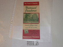 1950 National Jamboree Pennsylvania Railroad Brochure for Promotion