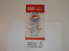 1953 National Jamboree Van de Kamps Guide to the Jamboree