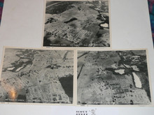 "1957 National Jamboree Set of Three Ariel 8x10"" Photographs"