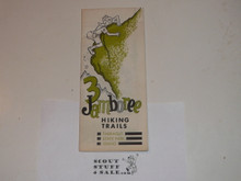 1973 National Jamboree Three Hiking Trails Map