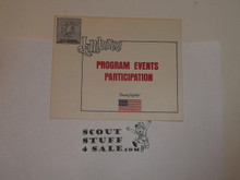 1973 National Jamboree Program Events Participation
