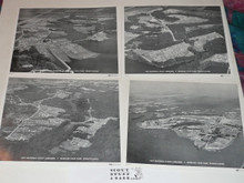 """1977 National Jamboree Set of Four Ariel 8x10"""" Photographs"""