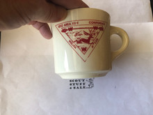 1972 Order of the Arrow Section 12E Conference Mug, Walika Host