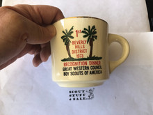 Great Western Council, 1973 Beverly Hills District Dinner Mug