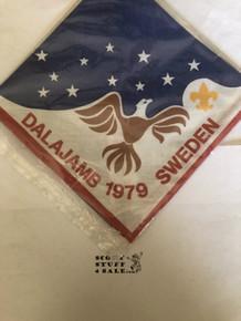 1979 Boy Scout World Jamboree USA Contingent Neckerchief