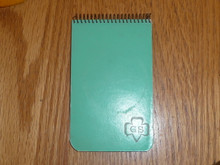 1940s Girl Scout Pad of Paper