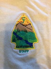 2010 Camp Josepho STAFF Polo Shirt, Mens Large, NEW