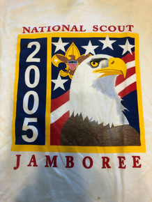 2005 National Jamboree Official Tee Shirt, Mens Large, New