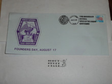 Order of the Arrow Conference (NOAC), 1988 Founders day First Day cover