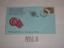 Order of the Arrow Conference (NOAC), 1994 First Day cover