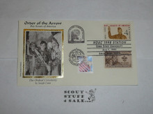 Order of the Arrow Conference (NOAC), 1998 First Day cover with 1960 stamps