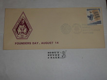 Order of the Arrow Conference (NOAC), 1996 Founders Day First Day cover