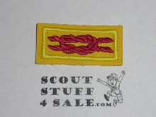 Philmont Training center Master Track  Award Knot on Tan, current