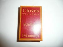 Vintage Spice Schilling Brand Cloves Spice tin