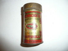 Vintage Spice Durkee's Brand Imported Paprika Spice tin
