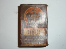 Vintage Spice Stuart Pur Spices Ground Cloves Spice tin (cardboard)