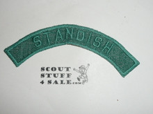 Vintage 40's Girl Scout STANDISH Community Strip