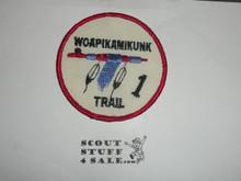 Woapikamikunk Trail Patch