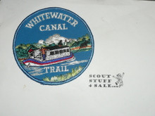 Whitewater Canal Trail Patch, Blue