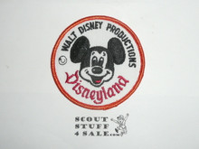 Vintage Walt Disney Productions Disneyland Patch