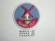 Vintage Solvang CA Travel Souvenir Patch