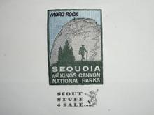 Vintage Sequoia & Kings Canyon National Parks Travel Souvenir Patch