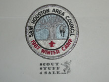 Winter Camp Patch, 1987, Sam Houston Area Council - Boy Scout