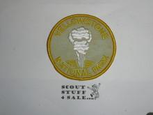 Vintage Yellowstone National Park Travel Souvenir Patch