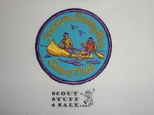 Vintage Survivor Turkey Run Canoe Trip Travel Souvenir Patch