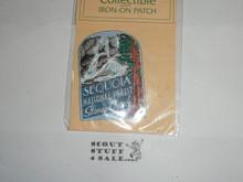 Vintage Sequoia National Forest Stoney Creek Travel Souvenir Patch