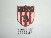 Vintage USA Travel Souvenir Patch