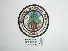 Vintage Sequoia National Park Travel Souvenir Patch