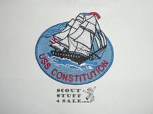 Vintage USS Constitution Travel Souvenir Patch